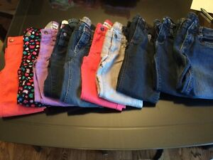 10 Pairs of Jeans/Pants Size 6 Girls Cornwall Ontario image 1