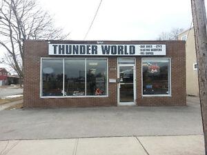 We Fix Snow Blowers @ THUNDER WORLD WELLAND