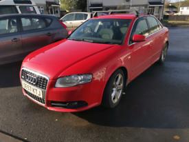 Audi, A4, 140 bhp, 2007, S Line