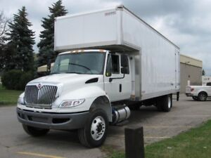Moving Truck - New 2019 Extended Cab International 26 Foot Body