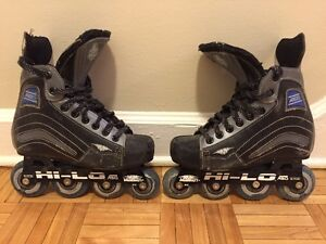 MISSION ROLLER BLADES SIZE 3 EXCELLENT CONDITION