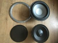 "Sub woofer speakers 10"" & 12"""
