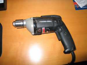 "Porter Cable Variable speed 3/8"" corded drill (Made in USA)"