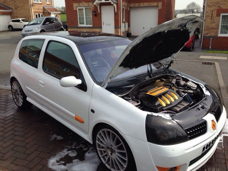 renault clio sport highly modified part ex welcome in bishop auckland county durham gumtree. Black Bedroom Furniture Sets. Home Design Ideas