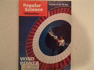 Vintage Popular Science Magazine July 1974  VGC
