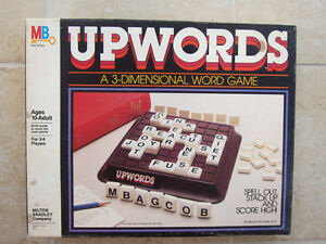 Upwords- word tile board game-educational and fun! London Ontario image 1