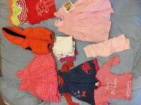 Baby girl clothing bundle 6-9mths