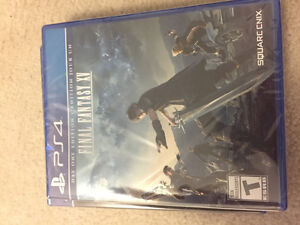 Final Fantasy XV day one edition and Uncharted 4