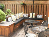 Deck designer and  builder for hire