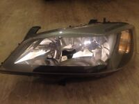Vauxhall Opel Astra mk4 (G) front smoked head lights (Pair)