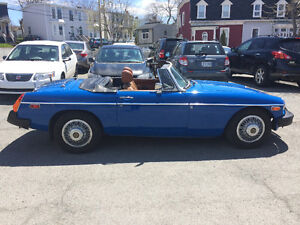 Excellent condition 1976 MGB