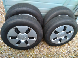 Tyres and trims