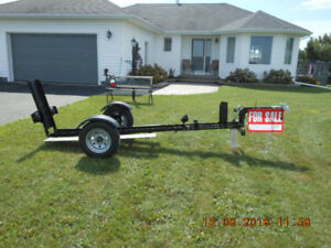 STINGER XL 112 FOLDING MOTORCYCLE TRAILER