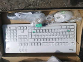 Fujitsu keyboard with mouse