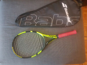 Babolat Pure Aero 2017 New Strings New Under and Over Grip