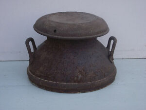 Antique Milk Can Top
