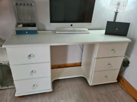 Pine dressing table/ office desk
