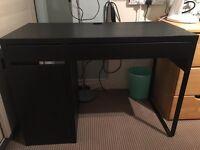 Ikea Micke Black Desk