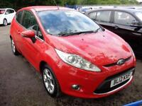 2012 12 FORD FIESTA 1.2 ZETEC 3DR * ONLY 20,000 MILES *