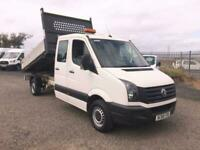 2015 Volkswagen Crafter 2.0 TDI 136PS Double Cab Tipper CHASSIS CAB Diesel Manu