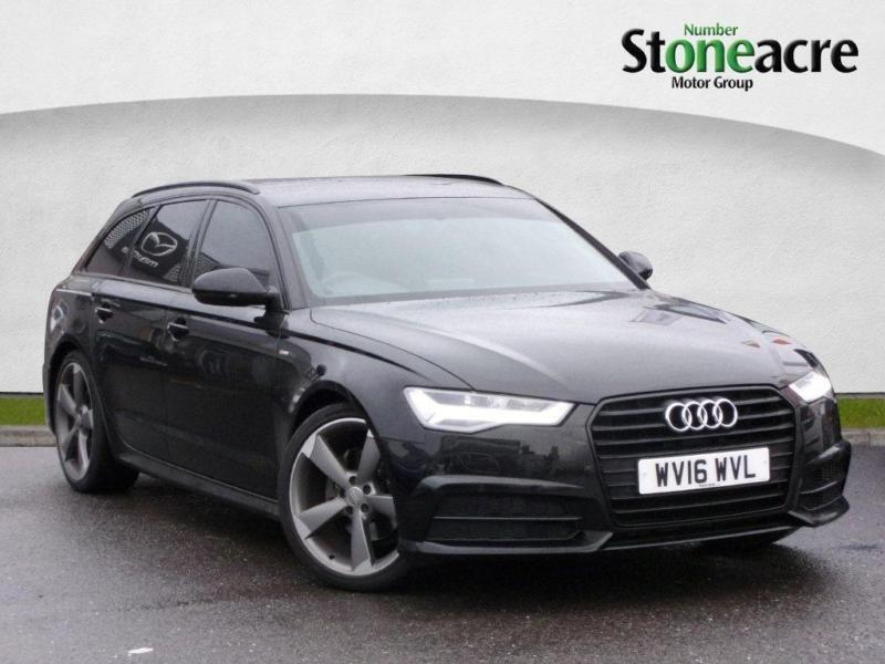 2016 Audi A6 Avant 2 0 Tdi Ultra Black Edition 5dr Sel S Tronic