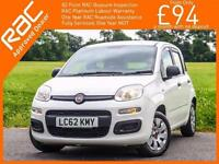 2012 Fiat Panda 1.2 Pop 5 Door 5 Speed Just 1 Lady Owner Only 33,000 Miles Full