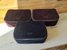 3 X Makeup Bags