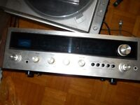 Pioneer SX-525 receiver, Dual and Prolinear turntables