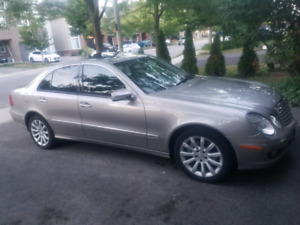 2007 Mercedes e280 4matic well maintained  3.0l