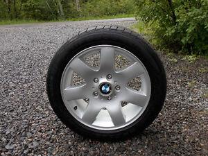 """4 mags 16"""" pour BMW - pneus 205/50ZR16"""