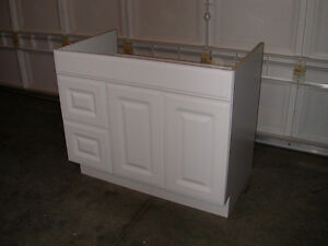 """VANITY - 36"""" white [new], can deliver"""