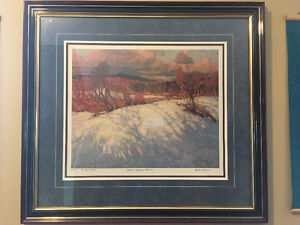 Tom Thomson Limited Edition Framed Print