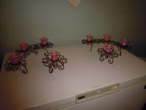 Set de chandeliers