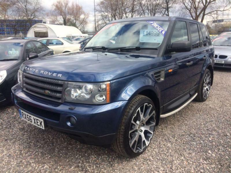 2009 land rover range rover sport 2 7 tdv6 hse 4 x 4 diesel automatic in derby derbyshire. Black Bedroom Furniture Sets. Home Design Ideas