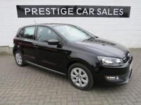2012 Volkswagen Polo 1.2 TDI BlueMotion Tech 5dr Diesel black Manual