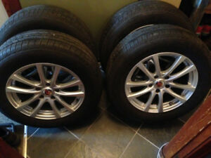 """$500 or best offer - 17"""" mags and tires"""