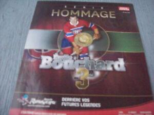 1-SERIE HOMMAGE,EMILE BOUCHARD 3 DE COLLECTION.