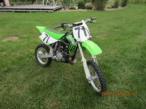 2007 kawasaki kx 85 super mini $1600