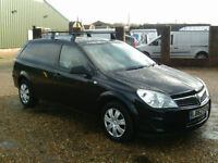 Vauxhall Astravan 1.7CDTi 16v ecoFLEX ( 110PS ) Club AIR CON IN BLACK 2013