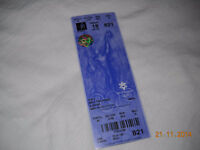 2002 Winter Olympics Team Canada Full Unused Ticket