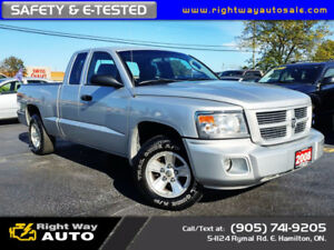2008 Dodge Dakota SXT | 12MTHS WARR | SAFETY & E-TESTED