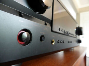 High-Quality Denon Stereo Receiver/Amplifier (DRA-397)