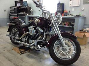 Custom Harley Fatboy