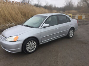 2002 honda civic selling certified
