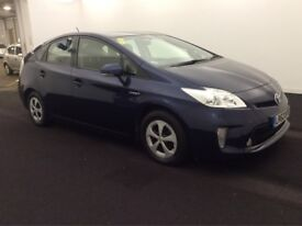 2012(62) TOYOTA PRIUS 1.8 (ONE OWNER)UK MODEL HYBRID AUTO SERVICE HISTORY WARRANTY CAN PCO zero tax