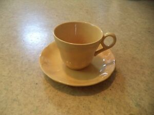 GRINDLEY YELLOW TEA CUP AND SAUCER Windsor Region Ontario image 2