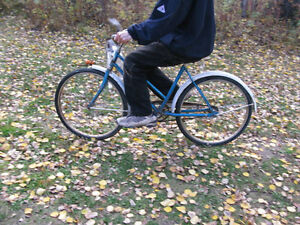 Blue girls/womans CCM Rambler Vintage 26X 1.5 bike