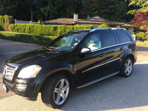 Like new, one owner, beautiful Mercedes GL550 for Sale!