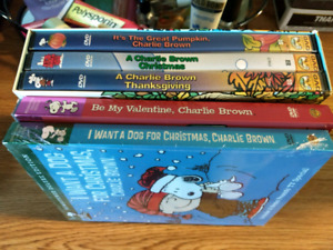 Snoopy dvds (2 sealed)