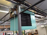 Powrmatic NV40/F/1 - 40Kw Gas Heater. Space Heater Blow Boiler